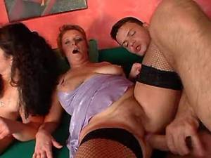 Numerous maturies hard fuck with guys in orgy