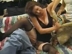 Aged sex teacher goes wild in orgy