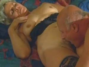 Grandma enjoys oral with her old lover