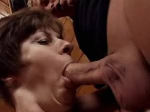 Lustful mature hard fucked by dude