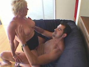 Lustful granny hard fucks and gets cum in mouth