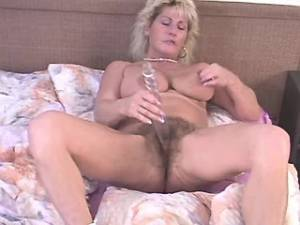 Chocolate guy fucks chesty granny with hairy pussy