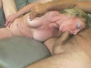 Lean granny crazy fucks and gets cumload in mouth