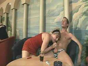 Date with hot grannies ends with BJ in wild orgy