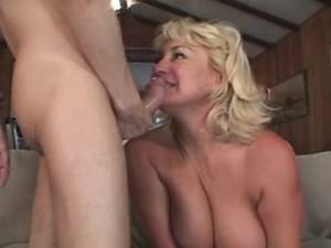 Horny granny in stockings crazy drilled by guy