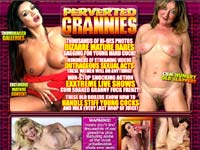 Perverted Grannies - Fresh Granny Babes in hard porn action