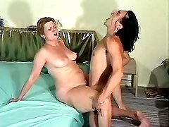 Fat woman is drilled by hungry guy