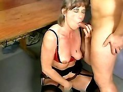 Old whores in kinky orgy