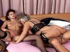 Granny fucked by strong man in orgy