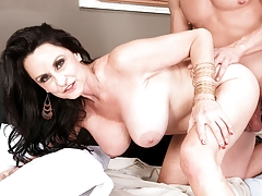 Rita Sleeps with Her Sons Big-dicked Friend