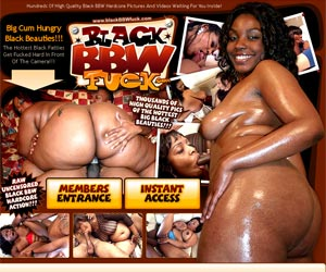 Black BBW Fuck - Sex and porn with fat ebony girls, bbw pussy